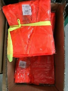 50 Pcs Safety Security Visibility Reflective Vest For Construction Traffic