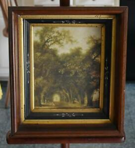 Gorgeous Original Victorian Eastlake Frame With Multi Dimensional Gilded Layers