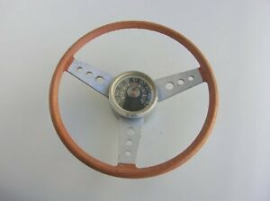 Vintage Accessory Thermometer Steering Wheel Mercedes Mb Vw Cox