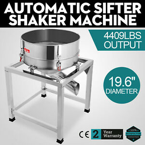 Automatic Sifter Shaker Machine Vibration Motor Food Processing 110v Excellent