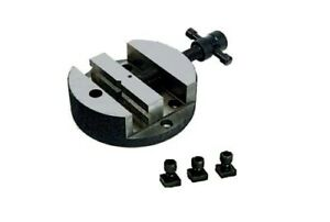 3 Wide Vise For 4 Rotary Tables 3 T nuts Bolts Machining Grinding Usa Stock