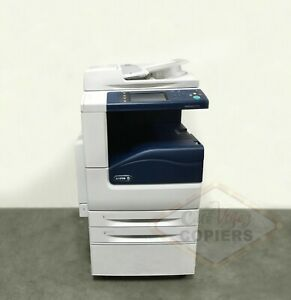 Xerox Workcentre 7125 A3 Multifunction Color Laser Copier Printer Scanner 25ppm