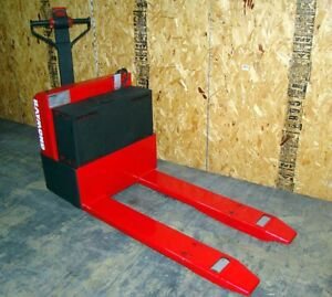New Batteries Raymond 101t f40l 4000lb Electric Battery Pallet Jack 449 Hours