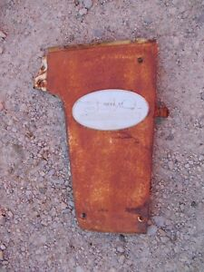 Farmall 340 Rc Tractor Original Ih Front R Radiator Side Cover Panel