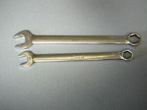 Snap On Tools Open End Combination Wrench Osh 20 5 8 Osh16 1 2 6 Pt Sae