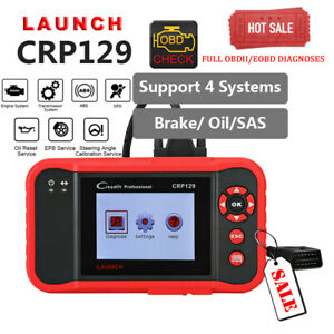 Launch X431 Creader Crp129 Obd2 Diagnostic Scanner For Vw Bmw Audi Ford Gm Lexus