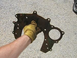 Oliver 77 Rowcrop Tractor Engine Motor Mounting Plate Bracket