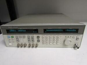 Hp Agilent 83732a Synthesized Signal Generator 10mhz 20ghz Opt 1e1 1e5