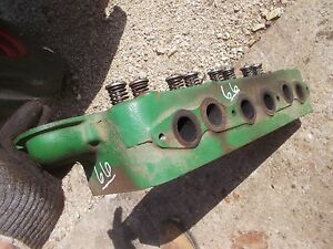 Oliver 66 Gas Tractor Ol White 1974 75 244 Engine Motor 4 Cylinder Head