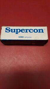 Superior Electric Co Supercon Current Rupturing 100 Amp 125 250v Ac dc Nib