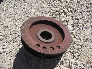Farmall Ih Sm Super M Tractor C264 C 264 Engine Motor Main Front Crank Pulley
