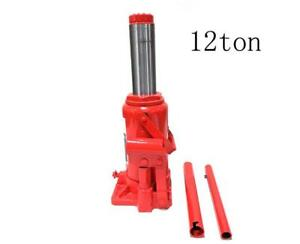 12 Ton Manual Power Over Hydraulic Jack Portable Low Profile Bottle Lift