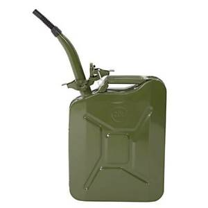 Backup Gas Caddy Tank 5 Gal 20l Gasoline Gas Fuel Can Emergency Jerry Can