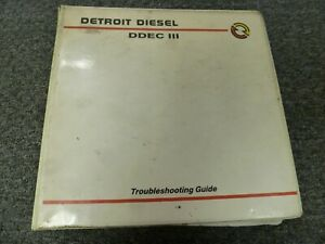 1992 1993 Detroit Diesel 3 53 4 53 6v 53 8v 53 Ddec Iii Troubleshooting Manual