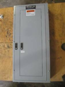 General Electric 225a Breaker Panel 208y 120v 3p4w 225 A Series A Mlo Ge 120