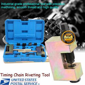 13pcs Timing Chain Riveting Tools Suitable For Mercedes Benz Chrysler Jeep