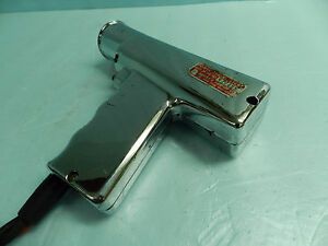 Vintage Harvey E Hanson Co Chrome Timing Light Model 24 nice