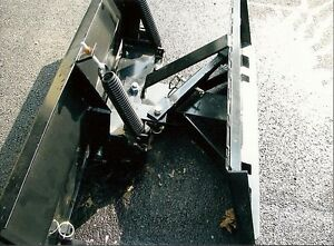 New 9 108 Snow Plow Skid Steer Loader tractor Pusher Bobcat Cat John Deere