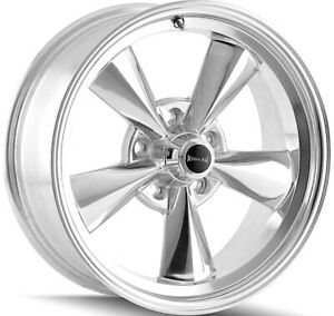 4 New 15 Inch Ridler 675 15x7 5x4 75 0mm Polished Wheels Rims