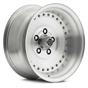 Center Line 005p Auto Drag Wheels 15x10 16 5x120 65 81 Silver Rims Set Of 4