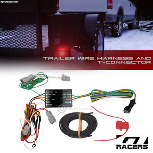 For 2014 2018 Kia Sorento Trailer Hitch 4 way Output Wire Harness T connector