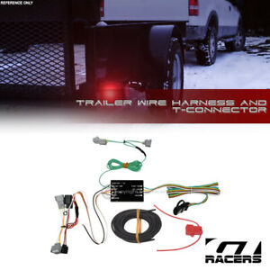 For 2016 2019 Toyota Tacoma Trailer Hitch 4 way Output Wire Harness T connector