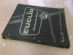 Euclid L 20 L 30 Front End Loader Shop Service Repair Maintenance Manual