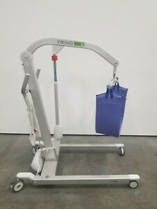 Hill rom Liko Viking L 550 Lbs Electric Patient Lift tested Working 096