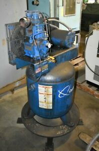1 5 Hp Quincy qr210vt00026 Vertical Air Compressor 28607