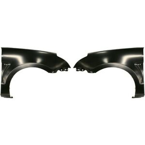Fender Set For 2008 2011 Ford Focus Front Primed Steel W Grille Provision Pair