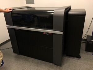 Used Stratasys Objet 500 Connex 3 3d Printer 2014 19 15 8 16 Micron Layers