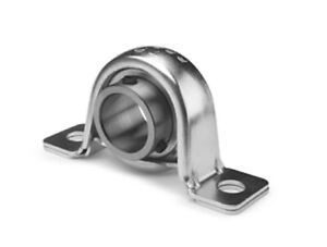 1 Inch Sbpp205 16 Stamped Steel Pillow Block Bearing With Eccentric Collar 3s14