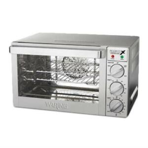 Waring Wco250x Commercial Convection Oven Countertop