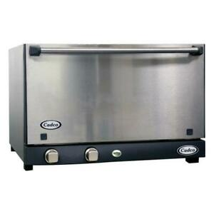 Cadco Ov 013ss Convection Oven Electric Countertop Half Size