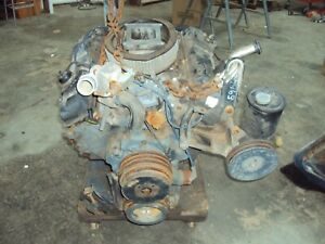 429 Ford Commercial Truck Engine forged Crankshaft