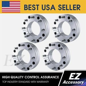4 Wheel Adapters 6x135 To 8x6 5 Dodge 8 Lug Wheels On 6 Lug F150 Hub