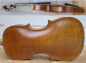 Antique Hopf Stamped 4 4 Violin One Piece Back