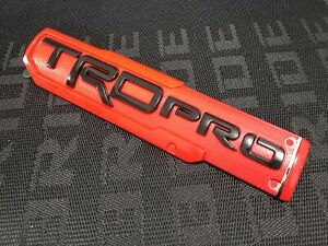 1x New For Toyota Tundra 4 Runner Tacoma Trd Pro Side Fender Door Badge Emblem