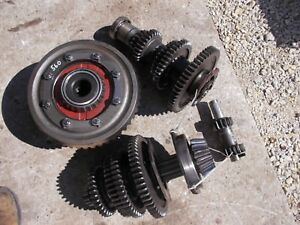 Farmall 560 Rc Tractor Ih Match Set Transmission Gear Gears Top Bottom Pinion Rv