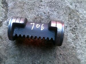 Farmall 706 Tractor Ih Power Steering Unit Front Piston Shaft For Bolster