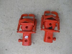 Allis Chalmers Wd Wd45 45 Tractor Ac O Snap Coupler Hands Hand Couple Rock Shaft