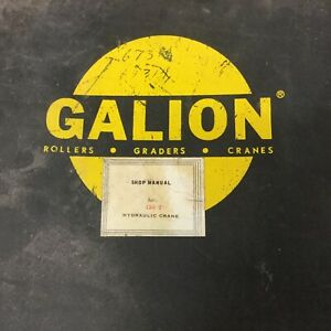 Galion 150t Service Shop Repair Manual Hydraulic Truck Mobile Crane Guide Book