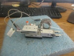 Smc Mhz2 10d Parallel Gripper With Mxs8 20 Air Slide Table Phd Sensors