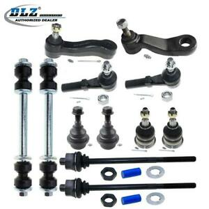 For 2006 2007 Gmc Sierra 2500 Hd Set Of 12 Ball Joints Tie Rods Idler Pitman Arm