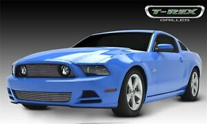 For 2013 Ford Mustang T rex Grille Overlay Djtm