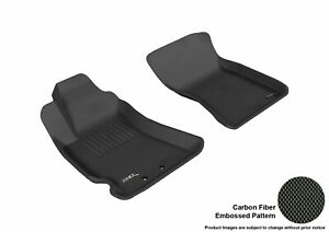 3d Fits 2009 2013 Subaru Forester G3ac08963 Black Waterproof Front Car Parts For