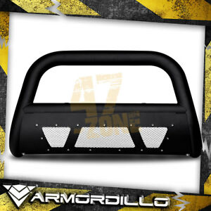 For 2013 Ford Explorer Matte Black Ms Series Bull Guard W Skid Plate