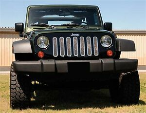 Ship From Usa Fits 2007 2013 Jeep Wrangler Gxtb90069 Durable Grille Aftermarket