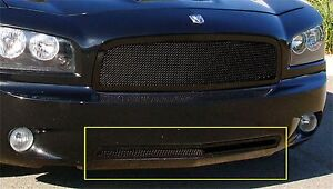 Ship From Usa Fits 2006 2010 Dodge Charger Gxtb90112 Durable Bumper Valance Gril