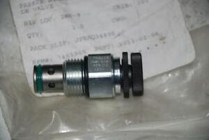 Parker Nvh101k Hydraulic Cartridge Needle Valve 16gpm 3000 Psi Meter Drain